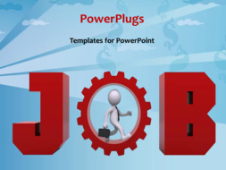 PowerPoint Template - Job search